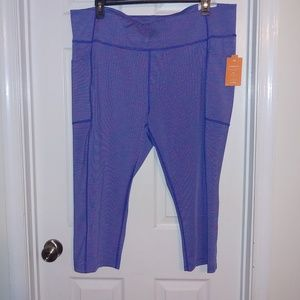 Tek Gear Capri Workout Pants Size 3X